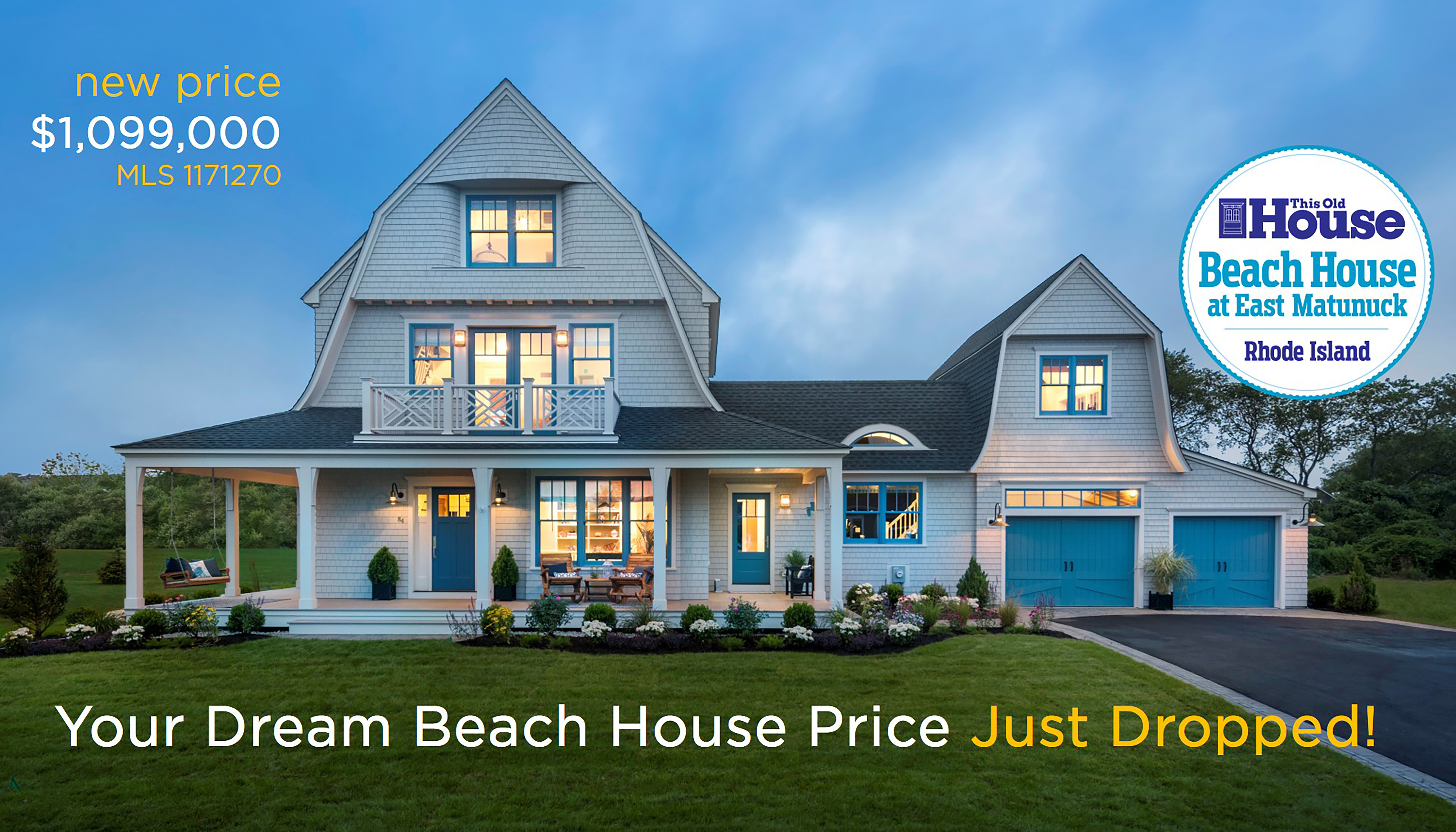Attractive Rhode Island Home Builders #7: Celebrated THIS OLD HOUSE® Idea Home For Sale!