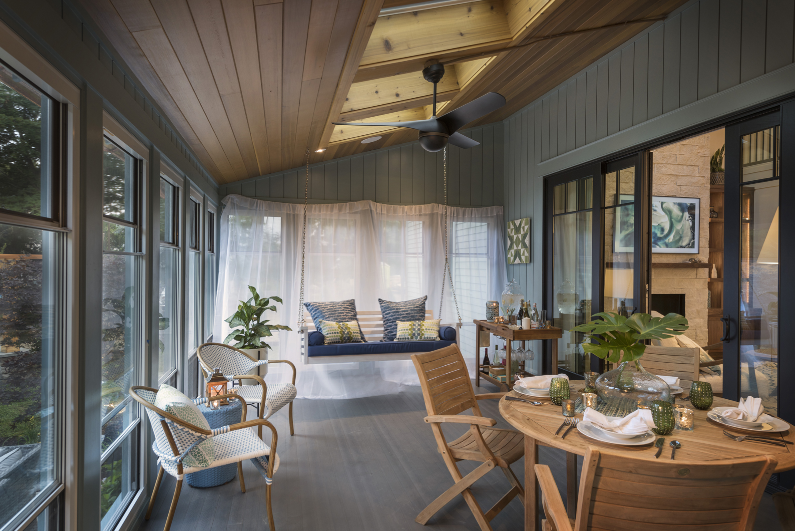 ... Hayneedle To Discuss The Design Approach For The This Old House 2018  Idea Houseu2026. This Time Sharing Tips For Creating A Stylish And Functional  Sunroom.